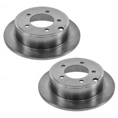 07-12 Chrysler, Dodge, Jeep Multifit Rear Disc Brake Rotor Pair