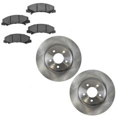 06-11 DTS, Lucerne (JL9); 08-09 Lacross. Allure Super Front Metallic Brake Pads & Rotors Set