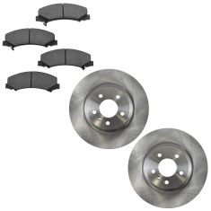 06-11 DTS, Lucerne (JL9); 08-09 Lacross. Allure Super Front Ceramic Brake Pads & Rotors Set