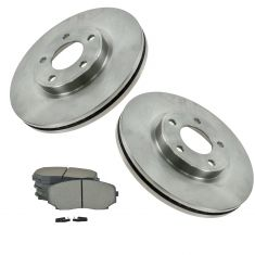 07-09 Ford Edge, Lincoln MKX FWD Front Metallic Brake Pads & Rotors Set