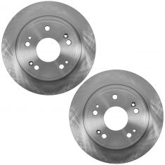 08-12 Accord; 05-07 Accord Hybrid; 09-12 TSX Rear Disc Brake Rotor Pair