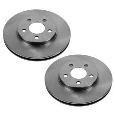 1995-97 Dodge Plymouth Neon Brake Rotor Front PAIR for 5 Lug Wheels
