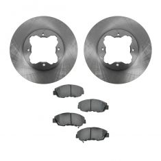 97 Acura CL; 90-97 Honda Accord Front CERAMIC Brake Pad & Rotor Kit