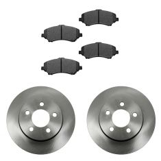 07-11 Dodge Nitro; 08-12 Jeep Liberty Front METALLIC Brake Pad & 12