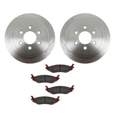 03 Dodge Durango Rear CERAMIC Brake Pad & Rotor Kit