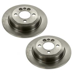 02-06 (thru 7/11/06) Mini Cooper Rear Disc Brake PAIR