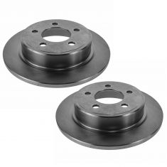 04-08 Chrysler Pacifica Rear Disc Brake Rotor PAIR