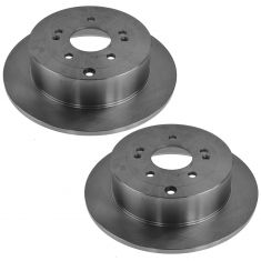 07-09 Hyundai Sante Fe Rear Disc Brake Rotor PAIR
