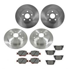 05-10 Scion tC Front & Rear CERAMIC Brake Pad & Rotor Kit