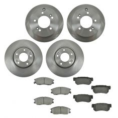 04-05 Hyundai XG350 Front & Rear CERAMIC Brake Pad & Rotor Kit