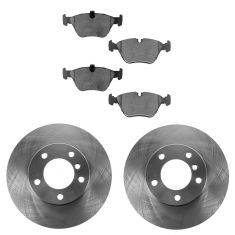 01-03 BMW 525i; 97-00 528i; 99-00 528iT Front Ceramic Brake Pad & Rotor Kit