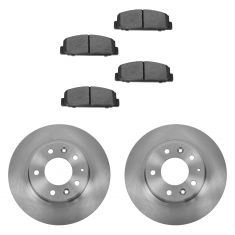 03 Protege; 03-05 Mazda 6 Rear Ceramic Pads & Rotors Set