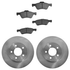 05-12 Mercury Mariner; Ford Escape Front Ceramic Disc Brake Pads & Rotor Set
