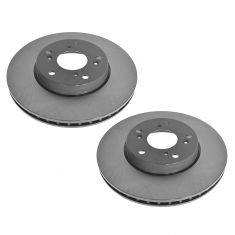 98-08 Honda Acura Multifit Front E-Coated Brake Rotor Pair