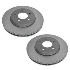05-12 Ford Escape; Mercury Mariner; Mazda Tribute Front E-Coated Brake Rotor Pair