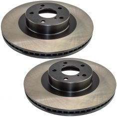 03-11 Subaru Mulitifit Front E-Coated Brake Rotor Pair