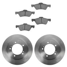 99-05 Suzuki Grand Vitara; 01-06 XL-7 Front Disc Brake Rotor & Metallic Pads Set