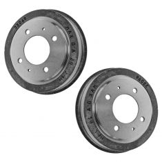 96-01 (thru 10-4-01) Hyundai Elantra; 97-99 Tiburon Rear Brake Drum PAIR