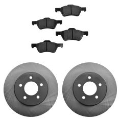 08-12 Escape H; 08-11 Tribute H; 08-11 Mariner H Front Posi Ceramic Pads & E-Coated Rotor Set