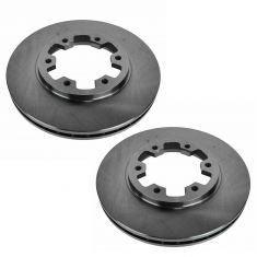 00 (from 3/00) Nissan Frontier w/4WD; 01-02 Frontier w/3.3L Front Disc Brake Rotor PAIR