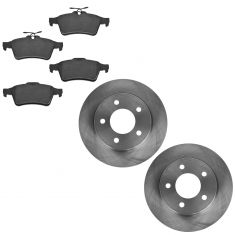 06-13  Mazda 3 2.0L Rear Ceramic Brake Pad & Rotor Kit