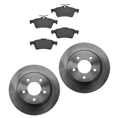 06-13  Mazda 3 2.3L Rear Ceramic Brake Pad & Rotor Kit