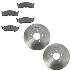 99-04 300M; 98-04 Concorde, Intrepid; 99-01 LHS Front CERAMIC Brake Pad & Rotor Kit