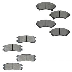Buick, Chevy, Olds, Pontiac Multifit Front & Rear Brake Pad Kit