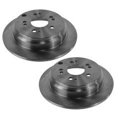 05-10 Honda Odyssey Rear Disc Brake Rotor Pair