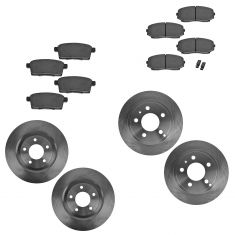 07-10 Ford Edge, Lincoln MKX Front & Rear Ceramic Brake Pad & Rotor Kit