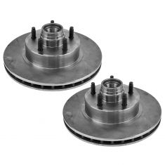 95-11 Ranger Explorer Mountaineer Mazda Truck 2wd Brake Rotor Front Torsion Pair