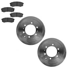 93-97 Land Cruiser; 98 Land Cruiser w/4.5L; 96-98 Lexus LX450 Rear Brake Rotor & Metallic Pad Kit