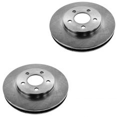 05-10 Ford Mustang w/4.0L Front Disc Brake Rotor Pair