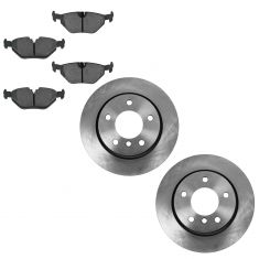 98-05 BMW 3-Series Rear Metallic Pad & Rotor Set