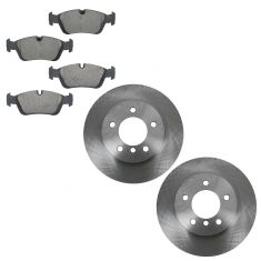 99-08 BMW 3 Series Multifit Front Ceramic Brake Pad & Rotor Kit