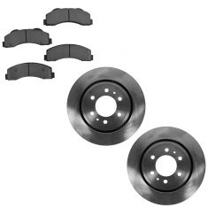 07-12 Expedition, Navigator; 10-12 F150 (w/6 Lug Whl) Front Brake Rotor & Ceramic Pad Kit