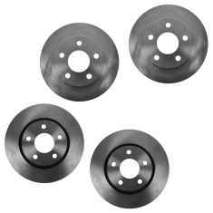 04-08 Buick Lacrosse Pontiac Grand Prix Brake Rotor Front & Rear Set of 4