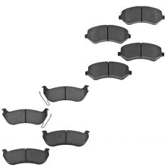 03-07 Jeep Liberty Front & Rear Ceramic Brake Pad Set