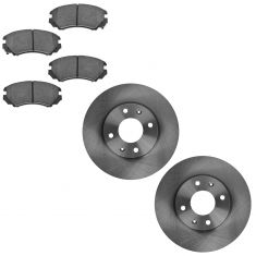 04-05 Sonata; 03-06 Optima Front Ceramic Pad & Rotor Set