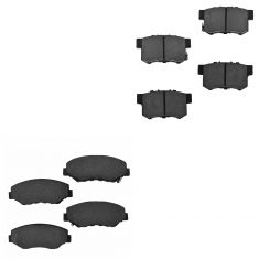 03-11 Element, 07 Accord; 02-04 CRV Front & Rear Ceramic Brake Pad Set