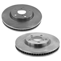 06 GS300; 09-15 IS250 Front Driver Side Brake Rotor Pair