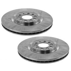 00-06 TT; 00-03 Golf; 04-05 Jetta Front Brake Rotor Pair