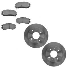89-97 Galant; 92-95 Summit; 92-95 Expo Front Brake Rotor & Ceramic Pad Kit