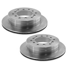 03-09 GX470, 4Runner; 07-09 FJ Cruiser; 01-07 Sequoia Rear Brake Rotor Pair