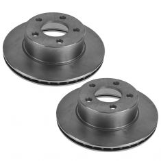 84-89 Cherokee, Wagoneer; 86-89 Comanche w/4WD; 80-88 Eagle; 87-89 Wrangler Front Brake Rotor Pair