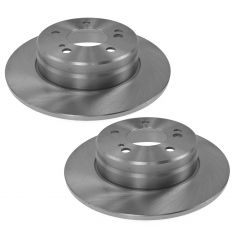 92-04 Mercedes Benz; 05-06 Crossfire Rear Brake Rotor Pair