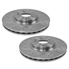 03-07 Mercedes Benz C, CLK Front Brake Rotor Pair