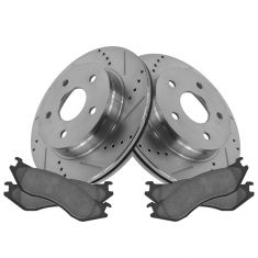05-06 Durango; 02-05 Ram 1500 Front Performance Disc Brake Rotor & Ceramic Pads