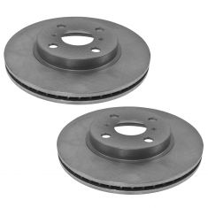 93-98 Supra; 93-97 GS300; 93-00 LS400; 99-00 SC300; 92-00 SC400 Rear Disc Brake Rotor Pair