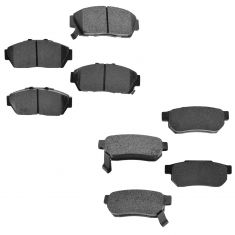 94-01 Integra; 93-95 Civic, Front & Rear Premium Posi Metallic Disc Brake Pads